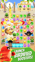 Screenshot 2: Angry Birds Match - Free Casual Puzzle Game