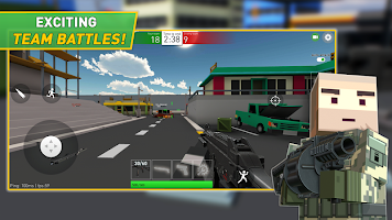 Screenshot 1: Pixel Grand Battle 2