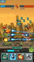Screenshot 1: Robots Tower Battle