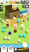 Screenshot 3: エッグファーム -どこまでもくっつくタマゴのゲーム