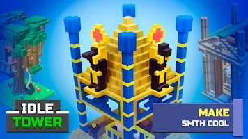 Screenshot 2: TapTower - Idle Tower Builder