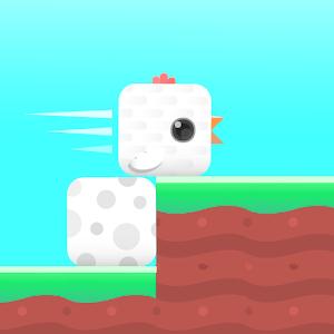 Icon: 方塊鳥