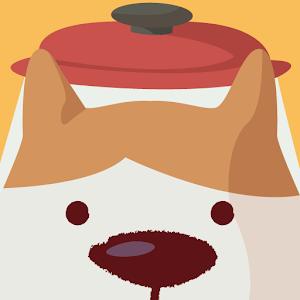 Icon: ポット犬タッチ。女子やキッズにお勧め。脳トレ早押しゲーム