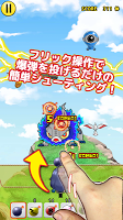 Screenshot 3: 爆発少女 -爽快連鎖フリック美少女シューティングゲーム-