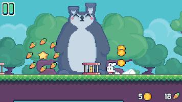 Screenshot 3: Yeah Bunny 2 - pixel retro arcade platformer