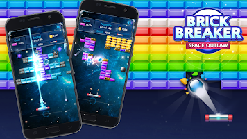 Screenshot 2: Brick Breaker : Space Outlaw