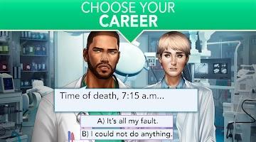 Screenshot 4: Is it Love? Blue Swan Hospital - Choose your story