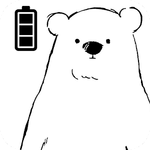 Icon: Battery Saver Shirokuma-Days