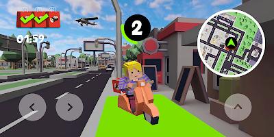Screenshot 2: 摩托快遞