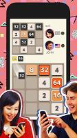 Screenshot 1: 2048 大戰 - PvP Puzzle -
