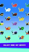 Screenshot 3: Cat City — Geometry Jump