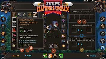 Screenshot 2: Clicker Warriors - Idle RPG