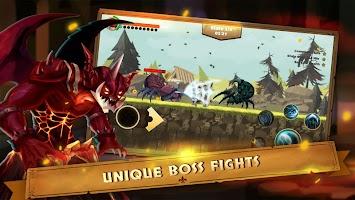 Screenshot 2: Guardian Knight Z: legend of fighting games.