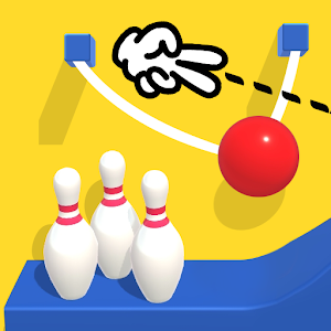 Icon: Line Cut Bowling