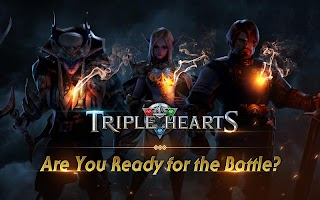 Screenshot 1: Triple Hearts