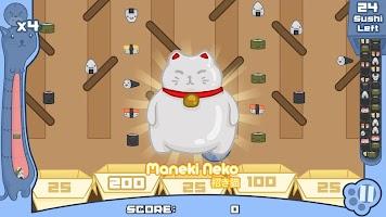 Screenshot 4: Sushi Cat