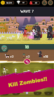 Screenshot 4: Idle Merge Monster : Zombie Waves