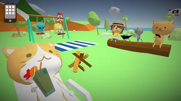 Screenshot 2: 釣りにゃんこ物語