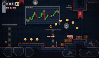 Screenshot 3: BitcoinMiner - Platformer Game