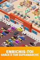 Screenshot 2: Idle Supermarket Tycoon - Jeu de gestion