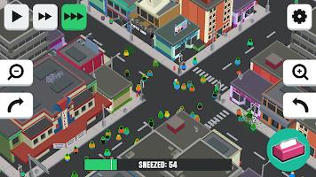 Screenshot 3: 噴嚏感染 3D