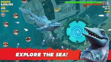 Screenshot 2: Hungry Shark Evolution   Global