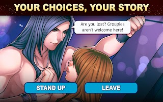 Screenshot 2: Is-it Love? Colin: Choose your story - Love & Rock