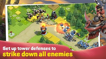 Screenshot 1: Caravan War: Heroes and Tower Defense