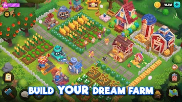 Screenshot 4: WeFarm: Build a Town & Explore