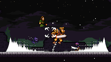 Screenshot 1: Apple Knight: Action Platformer