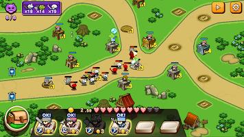 Screenshot 2: Pixel Hero Scramble
