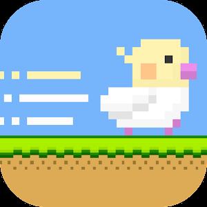 Icon: 小雞愛跑跑-嗶嗶(・θ・)
