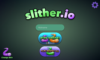 Screenshot 1: slither.io