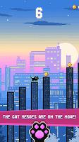 Screenshot 1: Cat City — Geometry Jump
