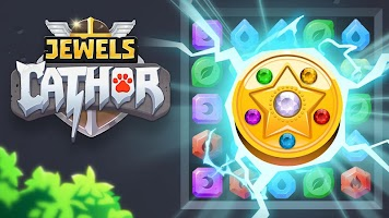 Screenshot 1: Jewels Cathor : Match 3 Puzzle