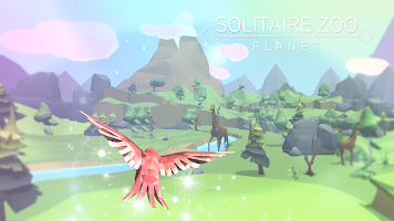Screenshot 2: Solitaire Zoo Planet