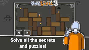Screenshot 4: One Level :火柴人越獄3