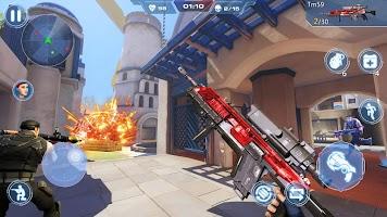 Screenshot 4: Cover Hunter - 3v3 Team Battle