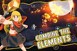 Screenshot 1: Elemental Dungeon