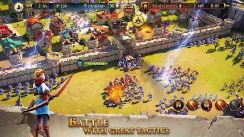 Screenshot 3: Legend: Rising Empire | 글로벌버전