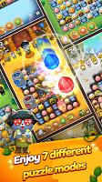 Screenshot 3: Friends Gem Treasure Squad! : Match 3 Free Puzzle