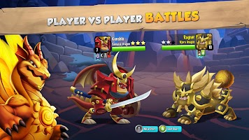 Screenshot 1: Dragon City