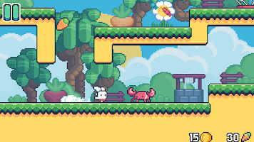Screenshot 4: Yeah Bunny 2 - pixel retro arcade platformer