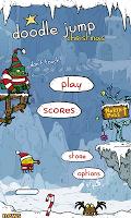Screenshot 1: Doodle Jump Christmas Special