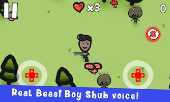 Screenshot 1: 野獸男孩舒布
