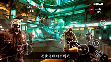 Screenshot 1: DEAD TRIGGER - 殭屍恐怖射擊遊戲