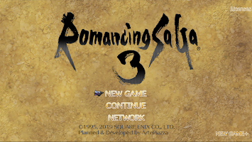 Screenshot 1: Romancing SaGa3