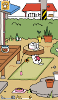 Screenshot 1: Neko Atsume: Kitty Collector