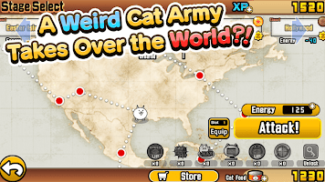 Screenshot 1: The Battle Cats