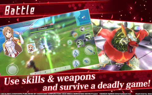 Sword Art Online: Integral Factor Global Version